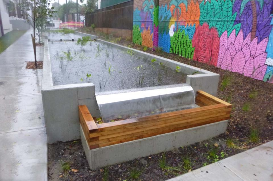 inner West Council Project _ Bioretention Basin